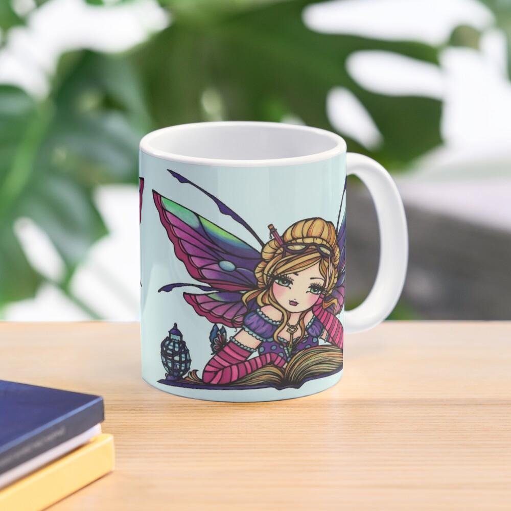 Bookworm Fairy by Hannah Lynn  Mug