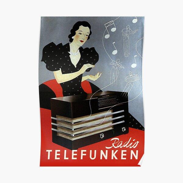 Metal Tin Sign telefunken poster Bar Pub Home Vintage Retro Poster Cafe ART