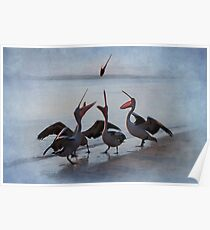 Flying Fish - Pelican Series Poster
