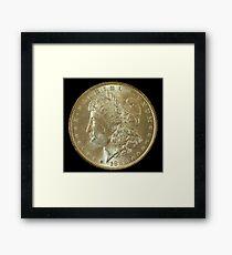 1888 Coin Framed Print