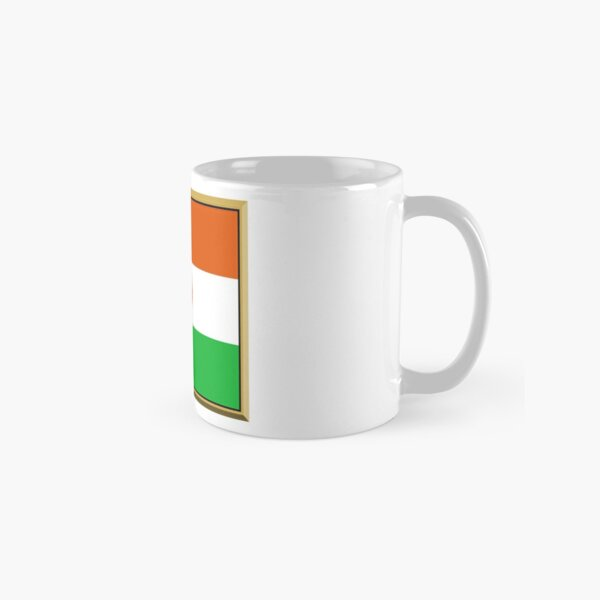 Niger Flag Stickers, Gifts and Products Classic Mug