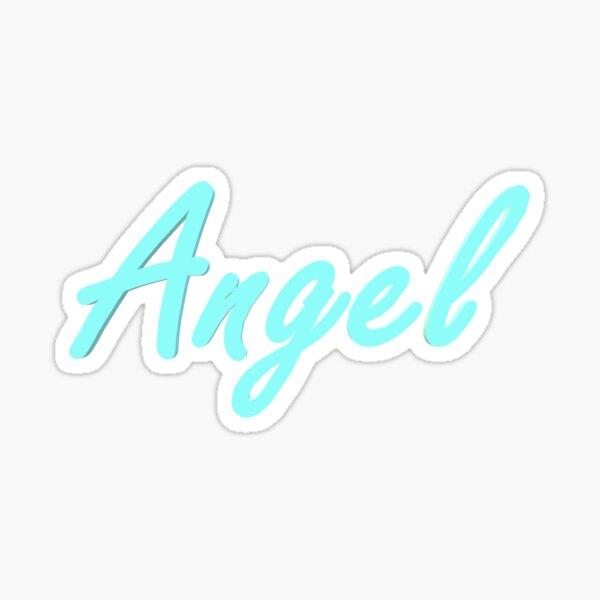 Nombre del ángel Pegatina