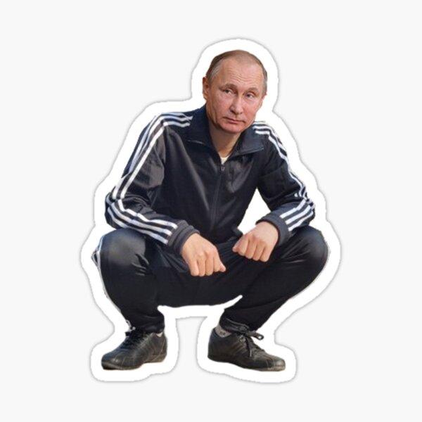 Poutine Gopnik Sticker