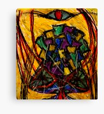 YIntrallion the encounterring (cup in the storm of the vortex of concept) Canvas Print