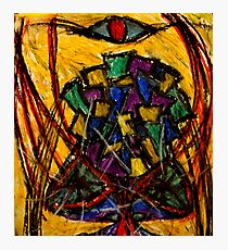 YIntrallion the encounterring (cup in the storm of the vortex of concept) Photographic Print