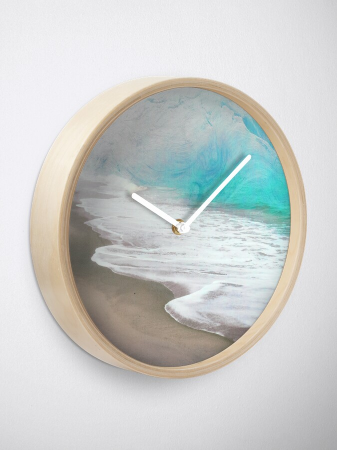 Alternate view of Blue Ice and Warm Waters Clock
