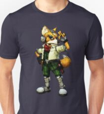 Fox Mosaic Unisex T-Shirt