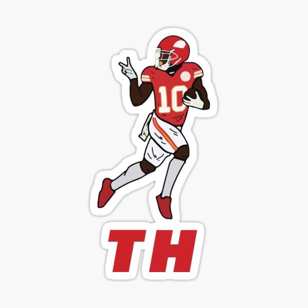 Tyreek Hill KC Design Sticker