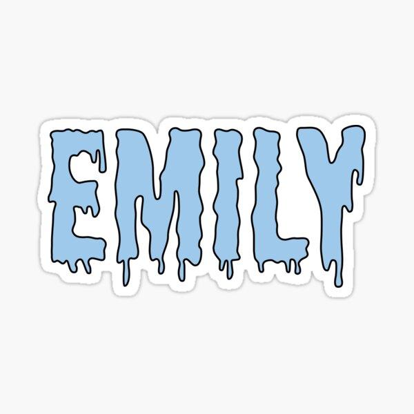 Emily Sticker Sticker