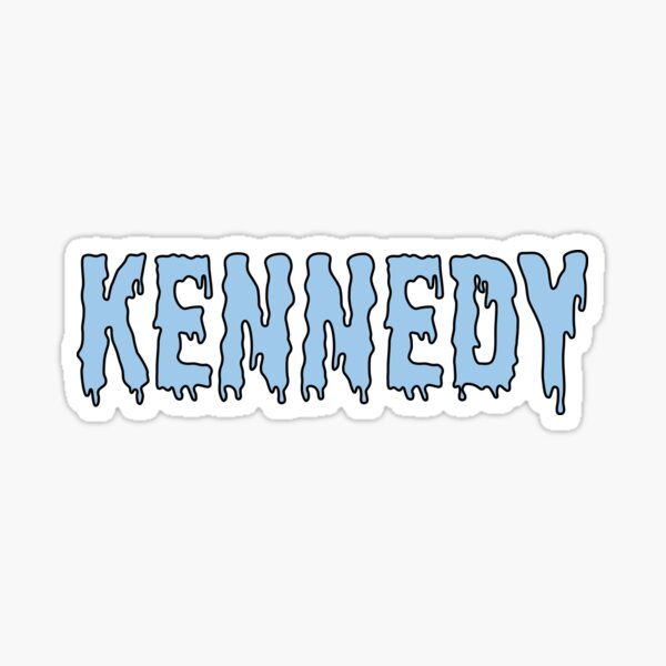 Kennedy sticker Sticker