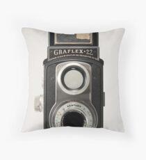 Graflex 22 Throw Pillow