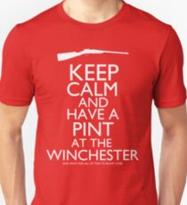 Shaun of the Dead - Keep Calm and Have A Pint At The Winchester T-Shirt
