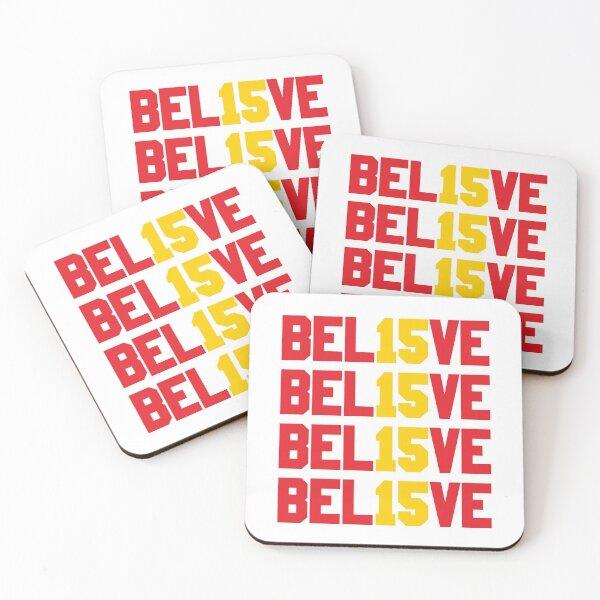 Believe in Kansas City 15 Coasters (Set of 4)