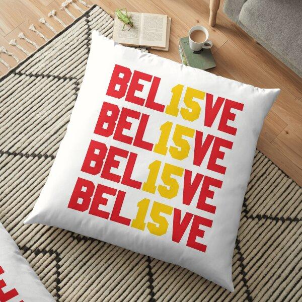 Believe in Kansas City 15 Floor Pillow