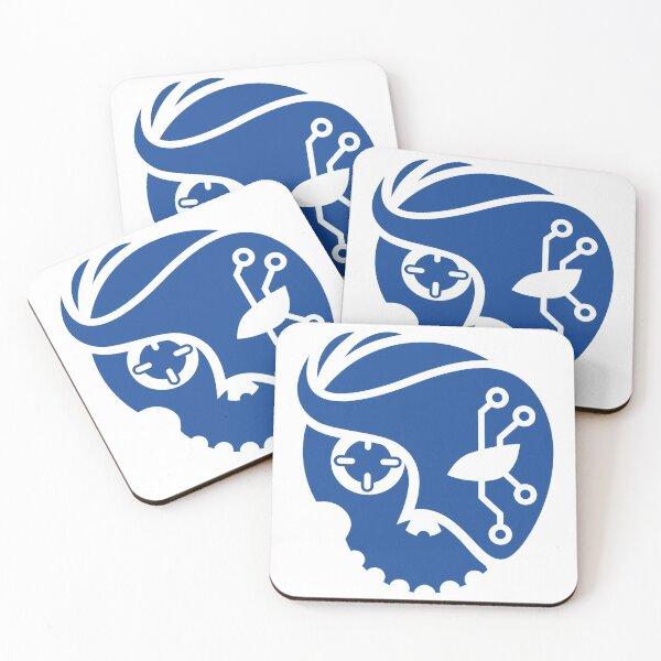 Criminal Glyph Coasters (Set of 4)