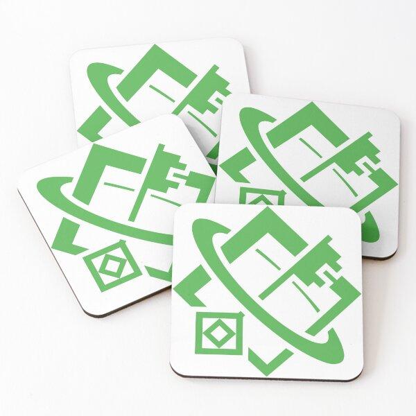 Shaper Glyph Coasters (Set of 4)