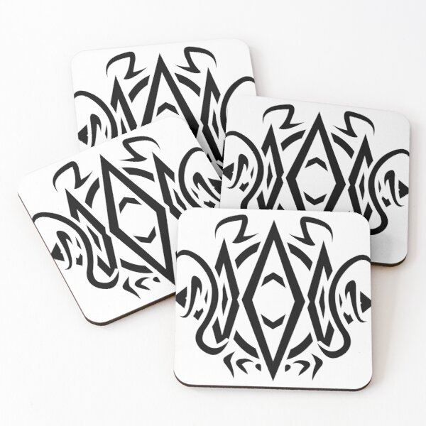 Apex Glyph Coasters (Set of 4)