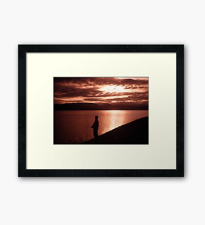Yukon Evening Framed Print