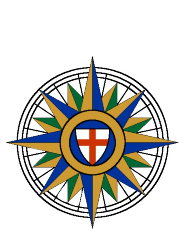 Quot Anglican Compass Rose Quot Stickers By Ruidh Redbubble