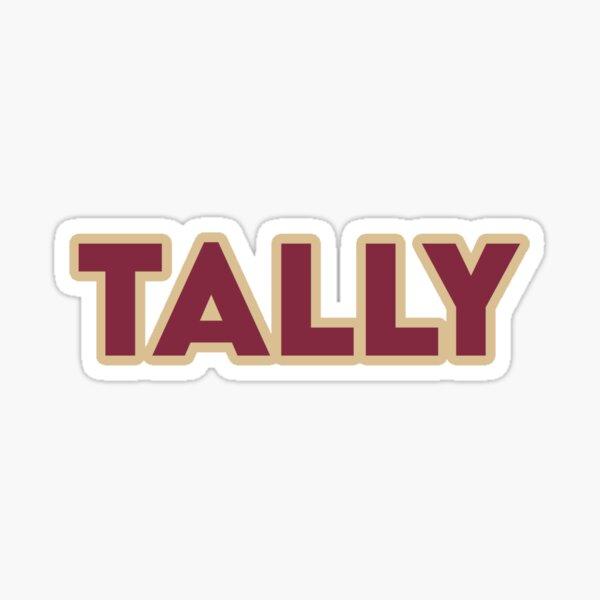 FSU/Tally Glossy Sticker