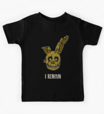 Five Nights at Freddy's - FNAF 3 - Springtrap - I Remain Kids Clothes