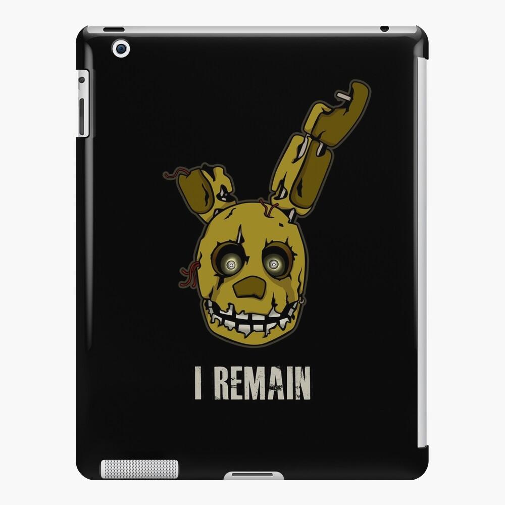 Five Nights at Freddy's - FNAF 3 - Springtrap - I Remain iPad Case & Skin