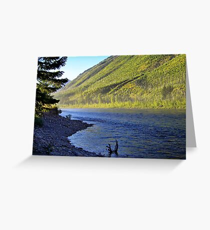 Silence (Glacier National Park, Montana, USA) Greeting Card