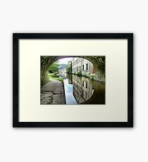 The Through view at Hebden Bridge. Framed Print