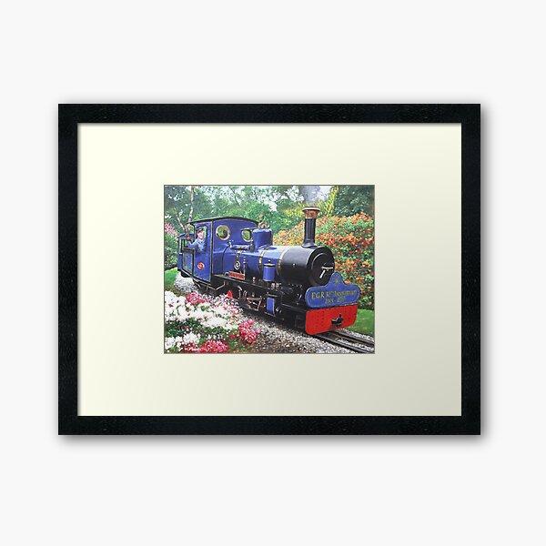 exbury steam railway 10th anniversary  Framed Art Print