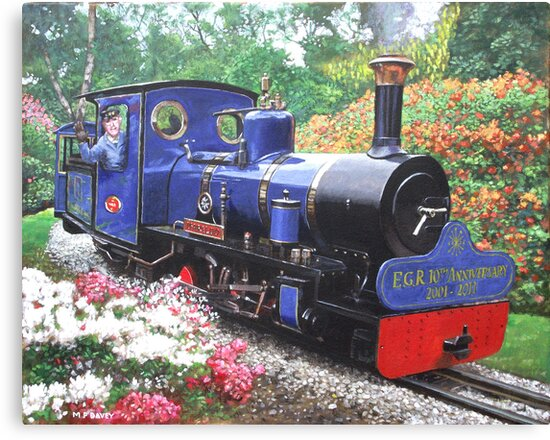 exbury steam railway 10th anniversary  by martyee
