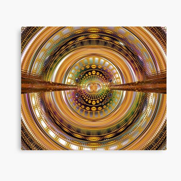 2nd Dimension Healing Code Canvas Print