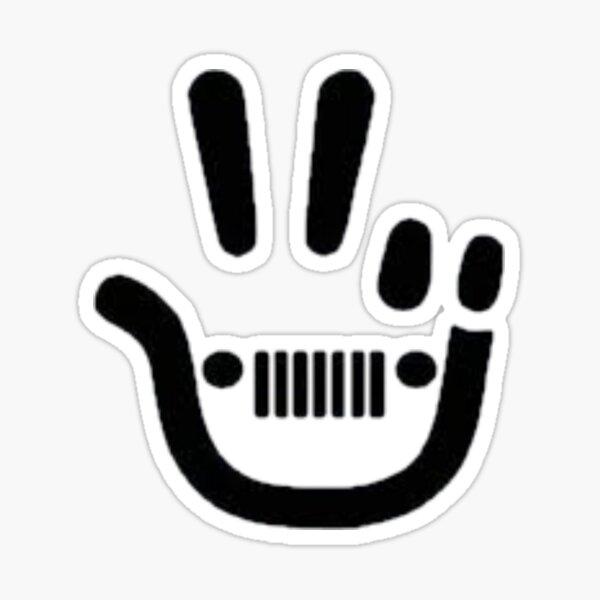 Jeep Wave Vinyl Decal Jeep World