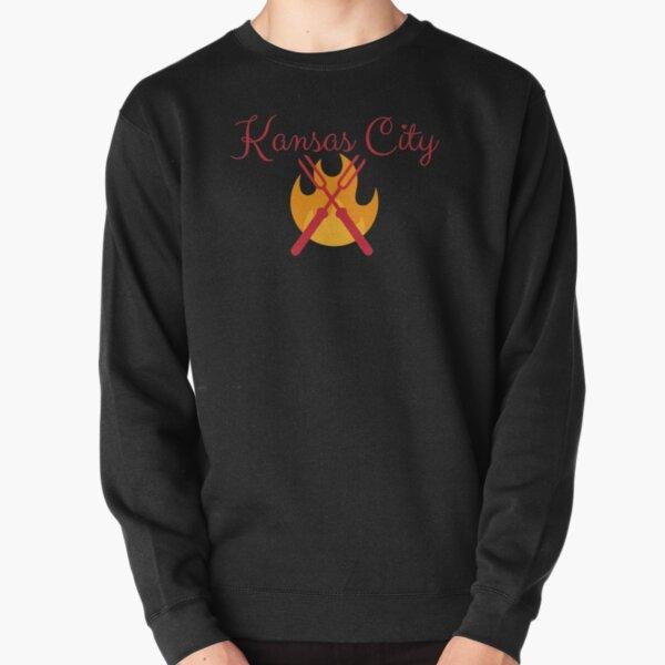 Kansas City BBQ Grill Shirt Sticker Pullover Sweatshirt