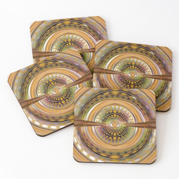 2nd Dimension Healing Code Coasters (Set of 4)