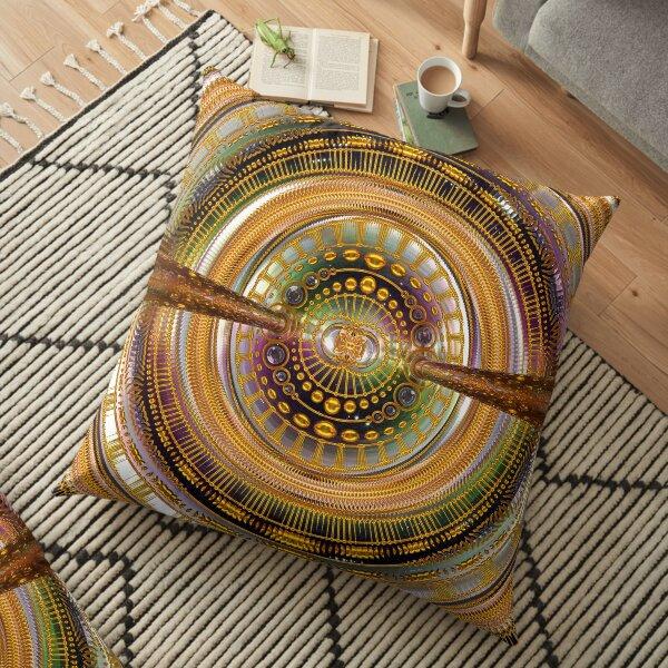 2nd Dimension Healing Code Floor Pillow