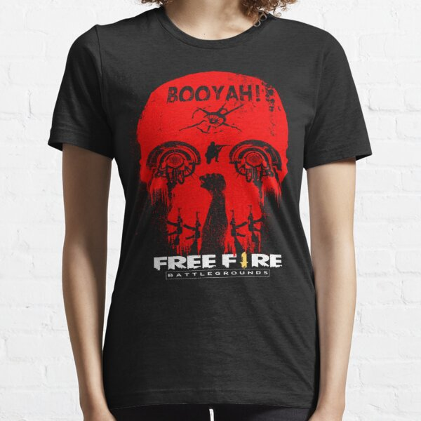 Free Fire BOOYAH red SKULL Essential T-Shirt