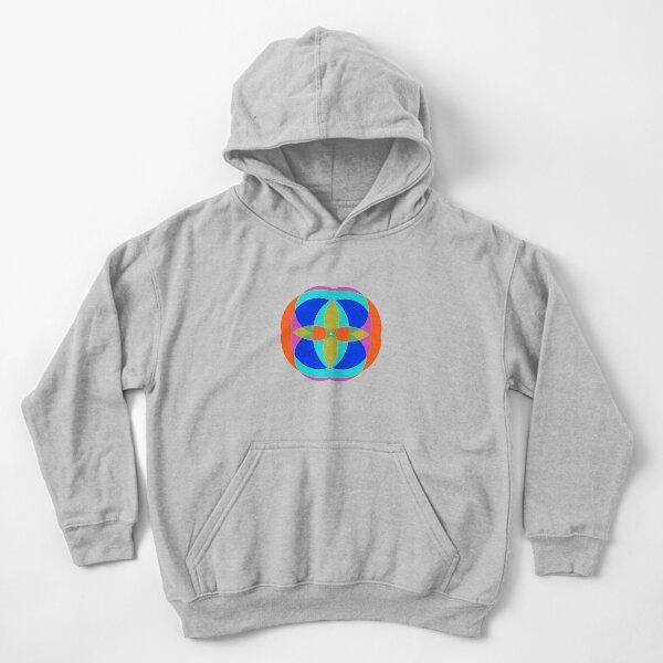 Circle, 2D shape Kids Pullover Hoodie