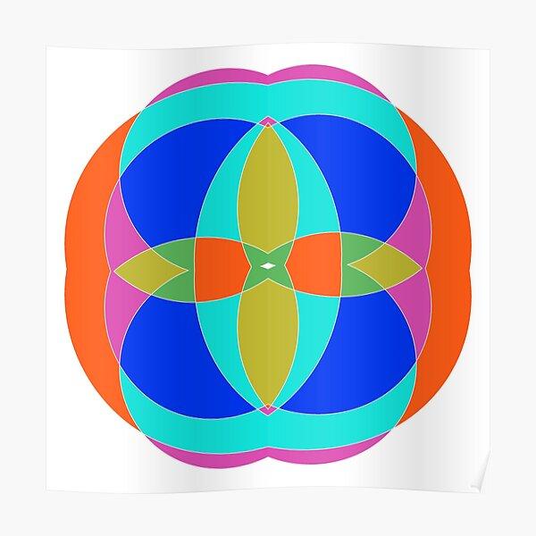 Circle, 2D shape Poster