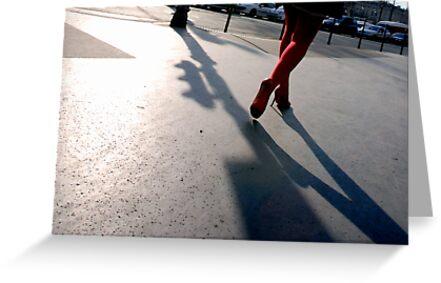 Paris - L'ombre de tes pas. by Jean-Luc Rollier