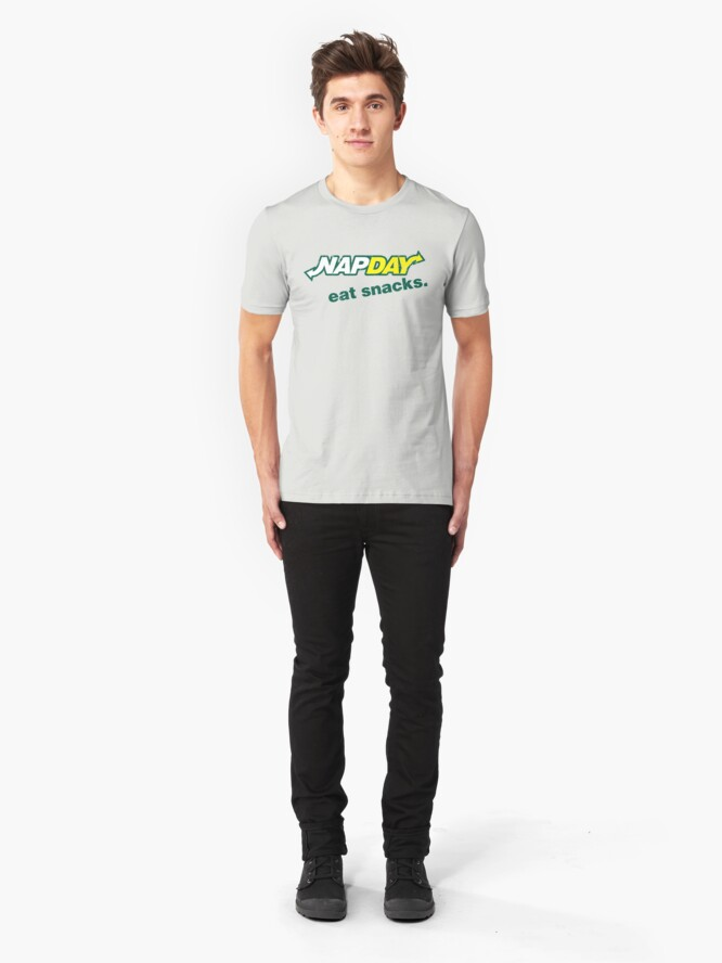 Alternate view of Nap Day Slim Fit T-Shirt