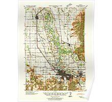 USGS Topo Map Oregon Eugene 282482 1940 62500 Poster