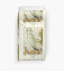 USGS Topo Map Oregon Eugene 282482 1940 62500 Duvet Cover