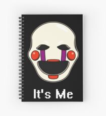 Five Nights at Freddy's - FNAF 2 - Puppet - It's Me Spiral Notebook