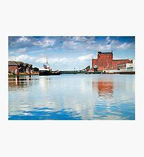 Alexandra dock Grimsby Photographic Print