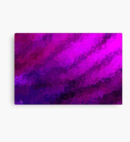 Study in Purple Canvas Print