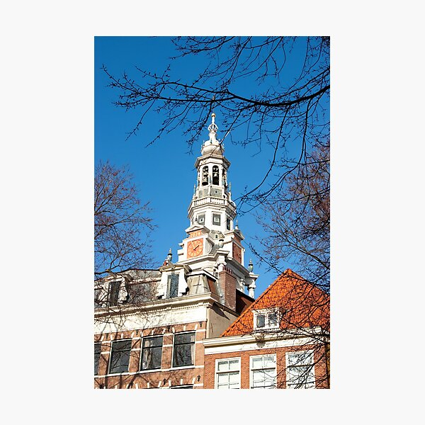 Keeping track of time and history... Zuiderkerk Tower Amsterdam Photographic Print