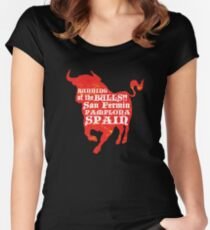 Running of the Bulls Women's Fitted Scoop T-Shirt
