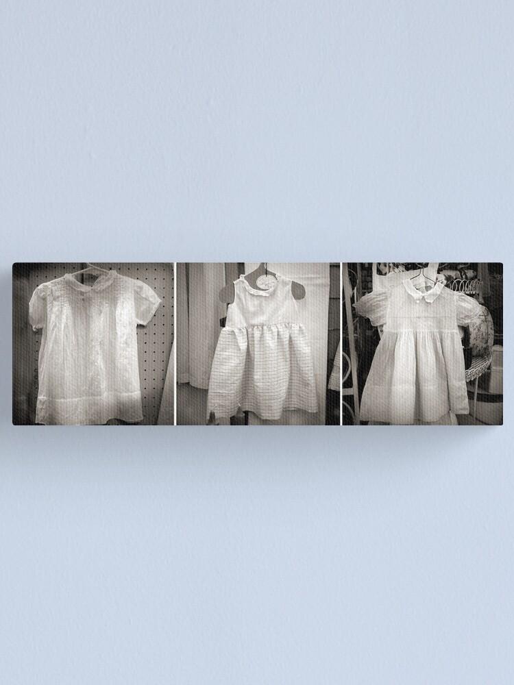 Alternate view of Antique Dresses Canvas Print