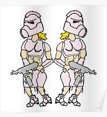 Pink Trooper Poster