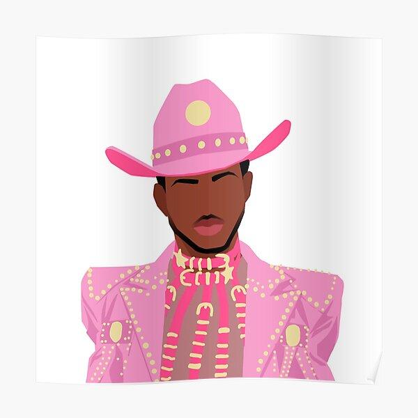 Pink Cowboy Poster